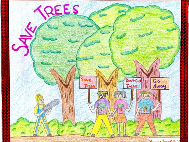 simple primary essay of save trees Why is water important : (brief essay) every organism in the world needs water from tiny insects till blue whales, every life on earth exists with the presence of water.